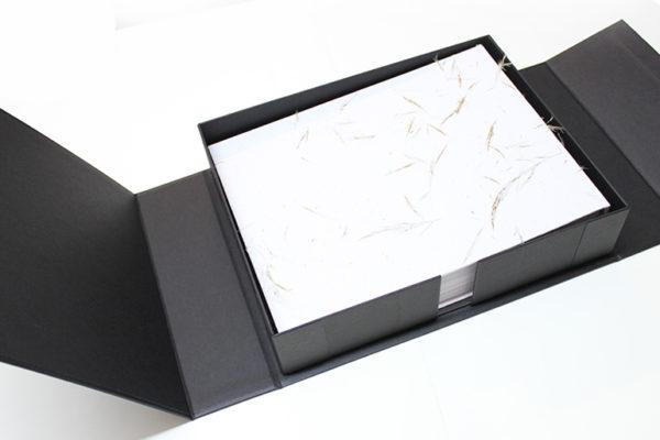 cajas para libros y portafolios